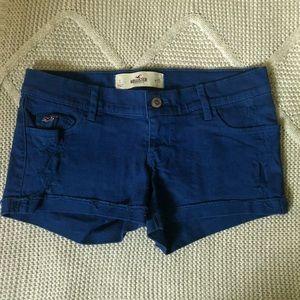 Hollister Low Rise Dark Blue Shorts!! 💕